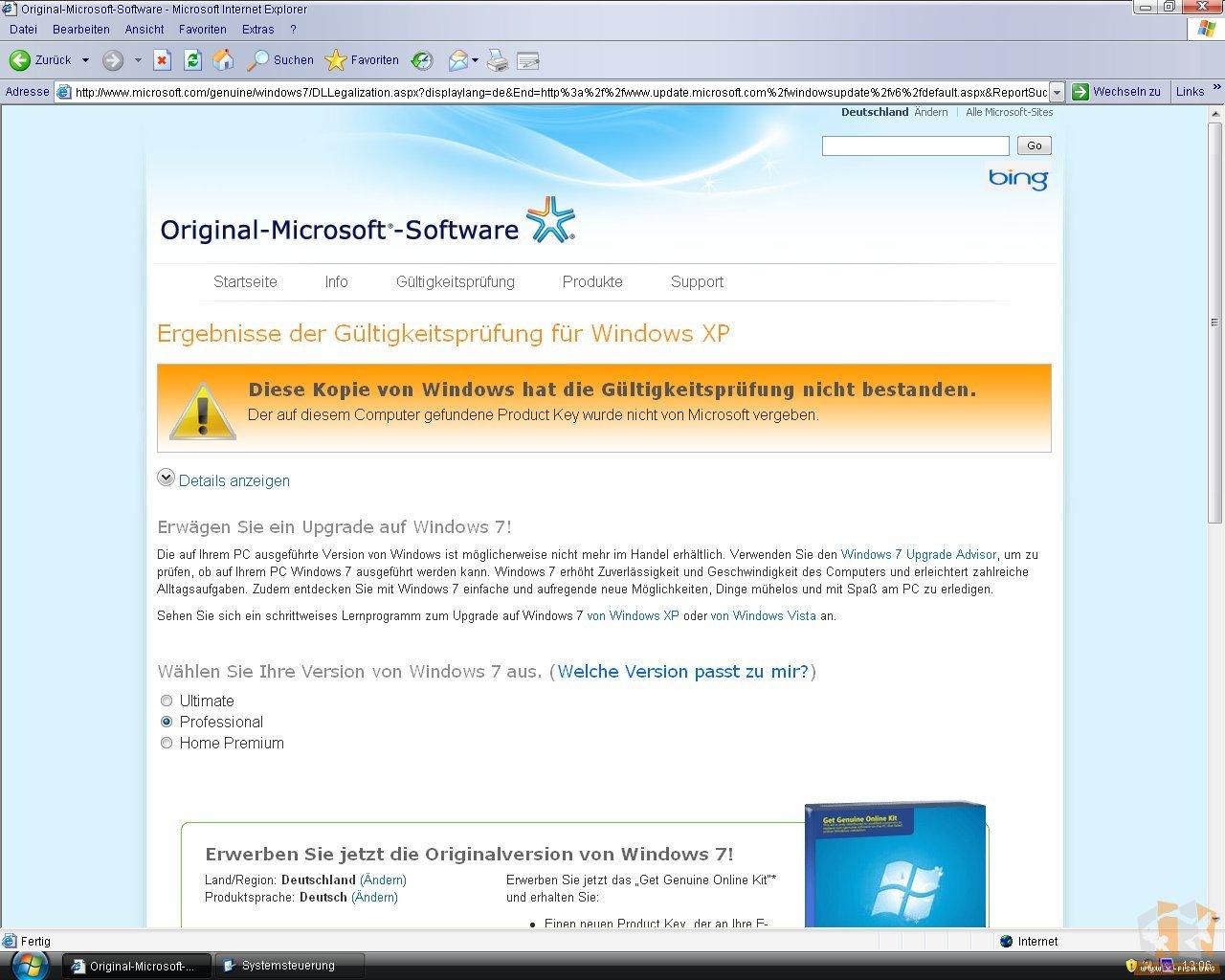working windows xp key