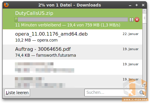 Download von »Duty Calls«