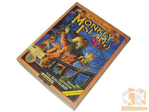 »Monkey Island 2 – LeChuck's Revenge« (deutsche Version)