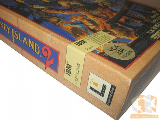 "»Monkey Island 2 – LeChuck's Revenge«, die 5,25""-Version"