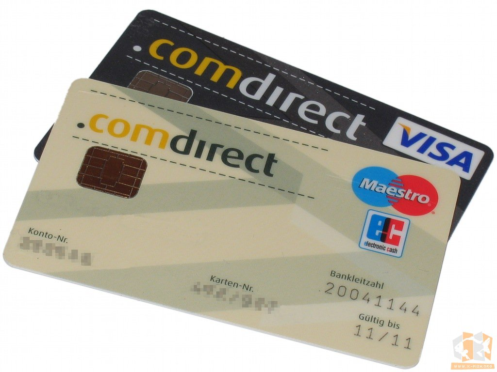 Visa Karte Comdirect.X Fish S Homepage Bedingungslos Gebührenfreies Girokonto Comdirect