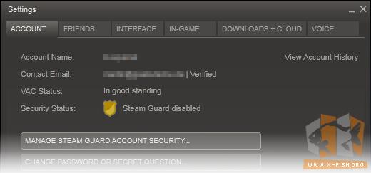 steam zurückhalten verhindern