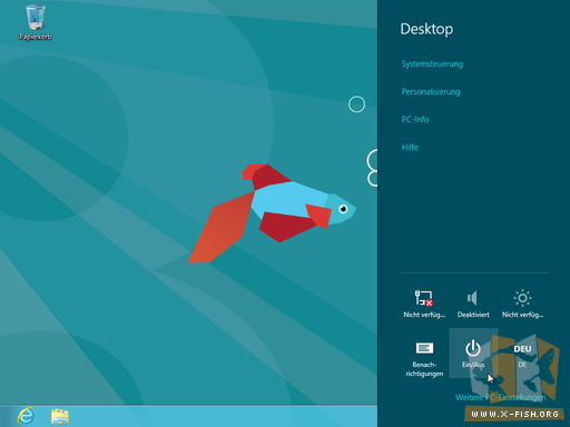 Windows 8 CP: Kein »Start«-Knopf mehr